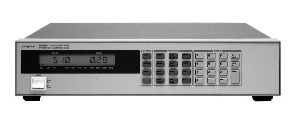 Agilent 6060A Electronic Load Mainframe