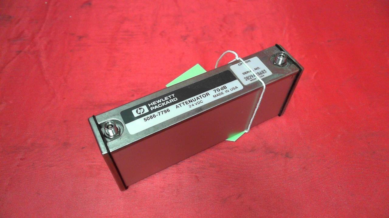 Agilent PRG-5086-7796 Attenuator | Component