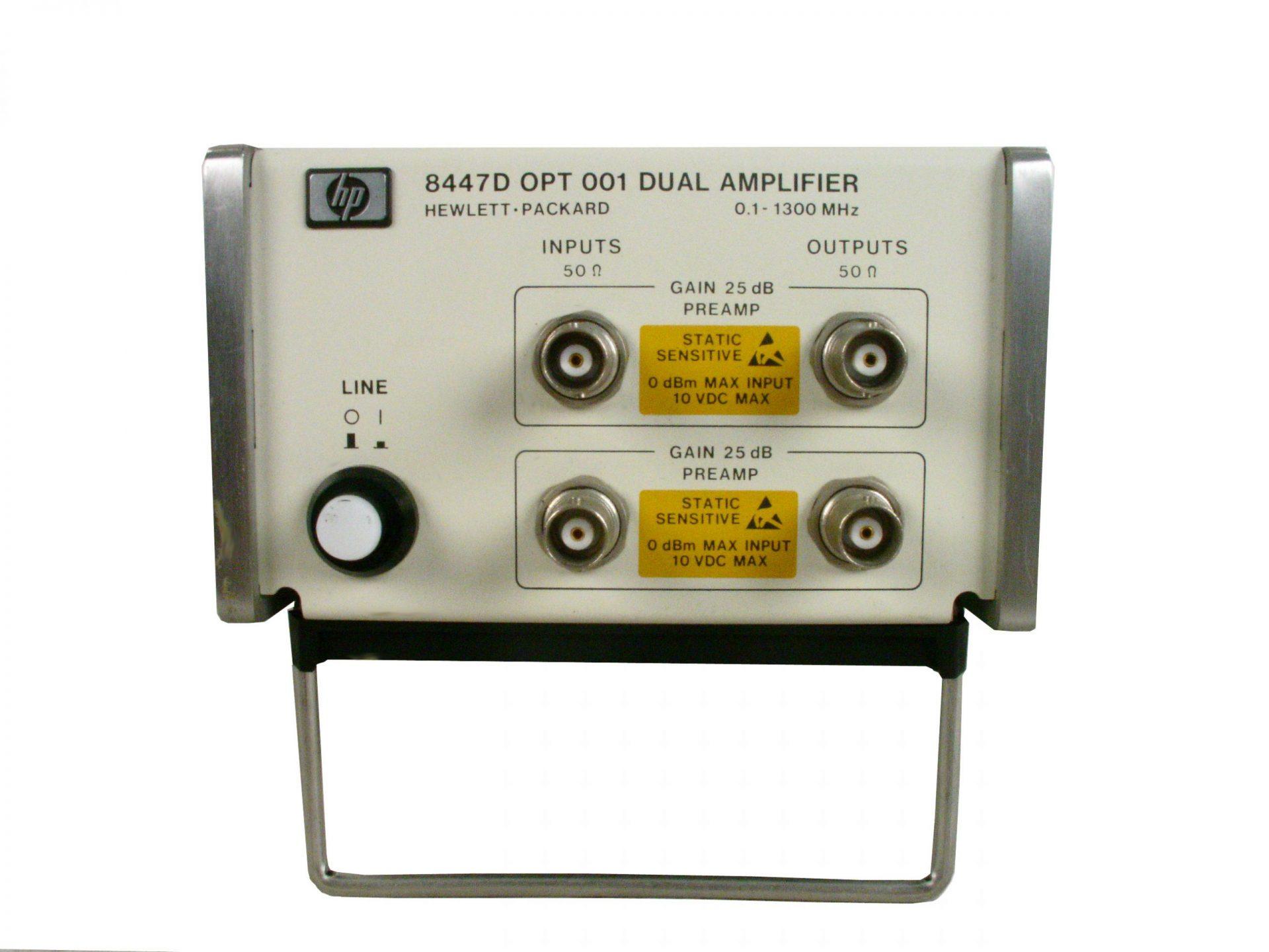 Agilent 8447A Amplifier