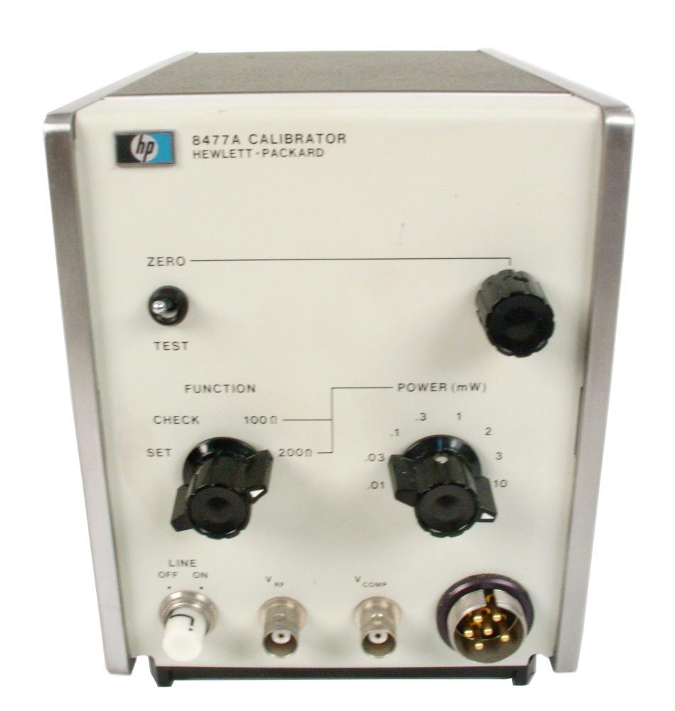 Agilent 8477A Calibrator
