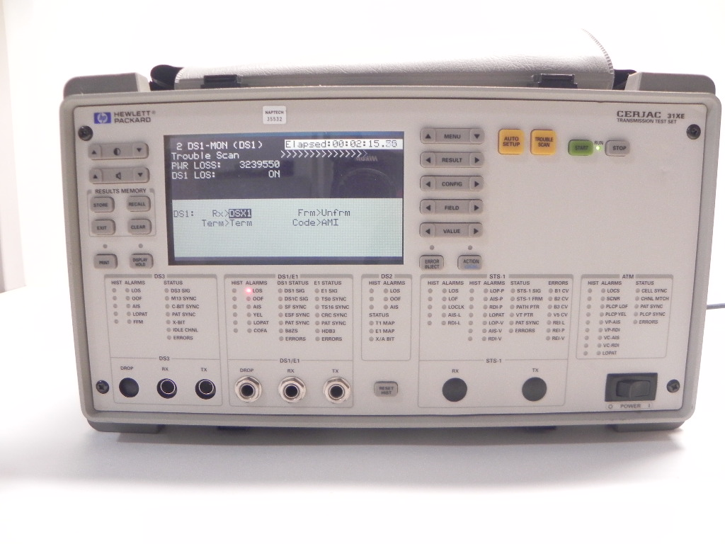 Agilent CERJAC 31XE Communications Analyzer