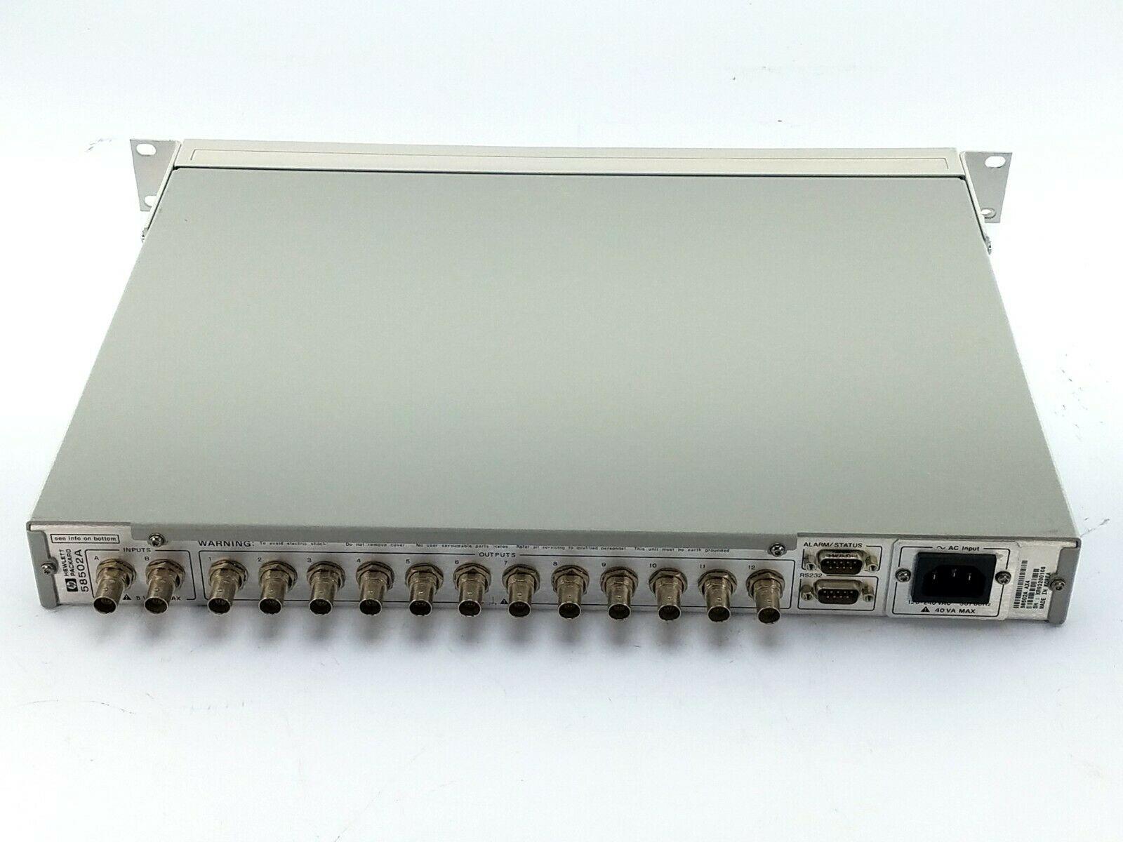 Agilent 58502A Calibrator