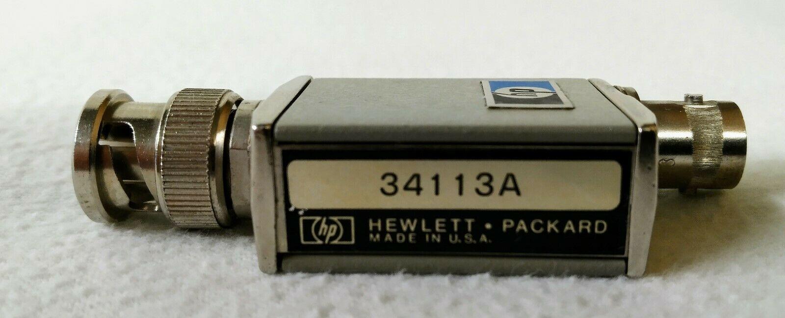 Agilent 34113A Calibration Fixture
