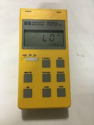 Agilent 8140A Optical Meter
