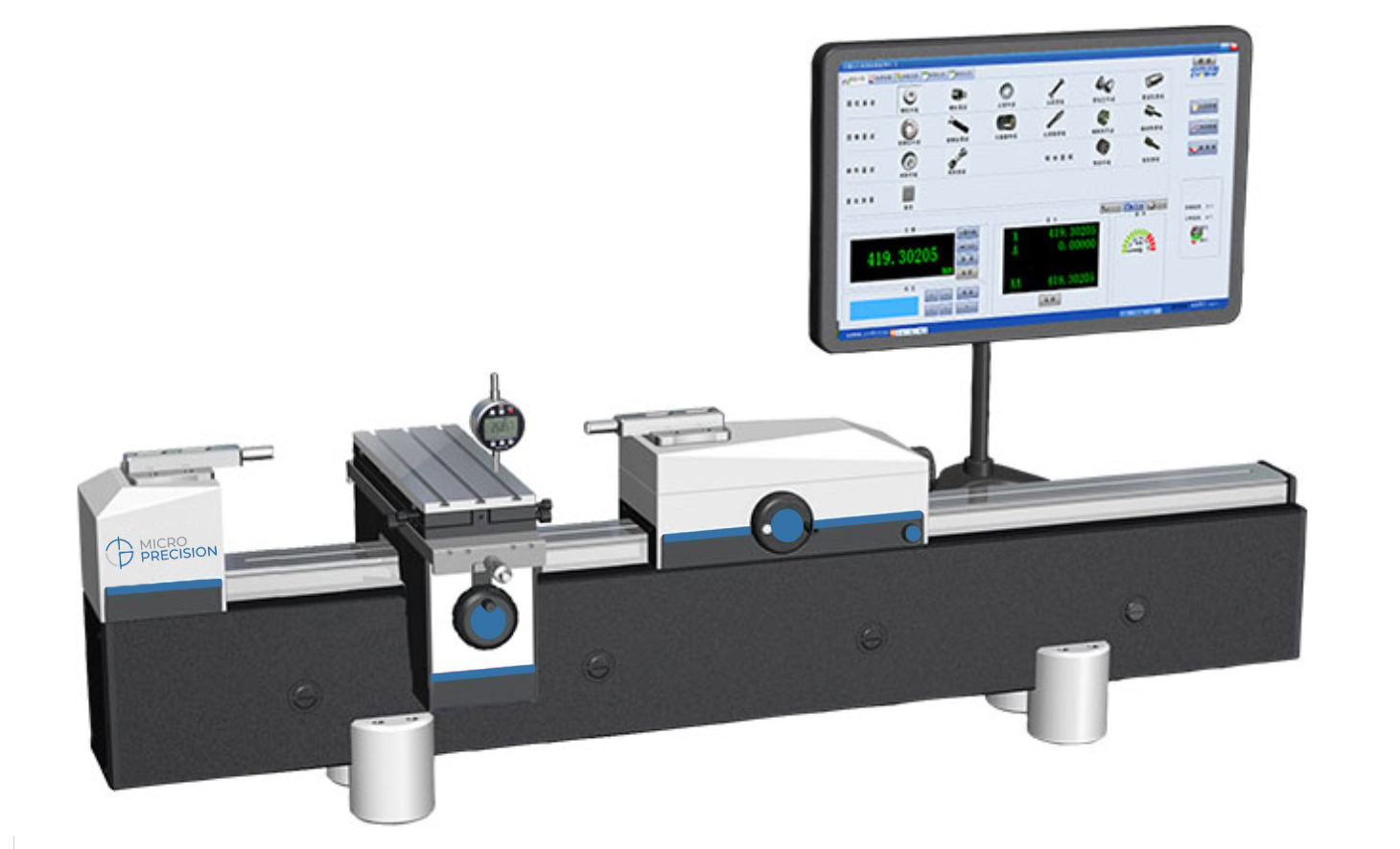 Micro Precision MP5100-300A/B Dimensional Calibrators | Universal Length Measuring Machine