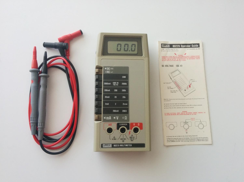 Fluke 8022B Multimeter