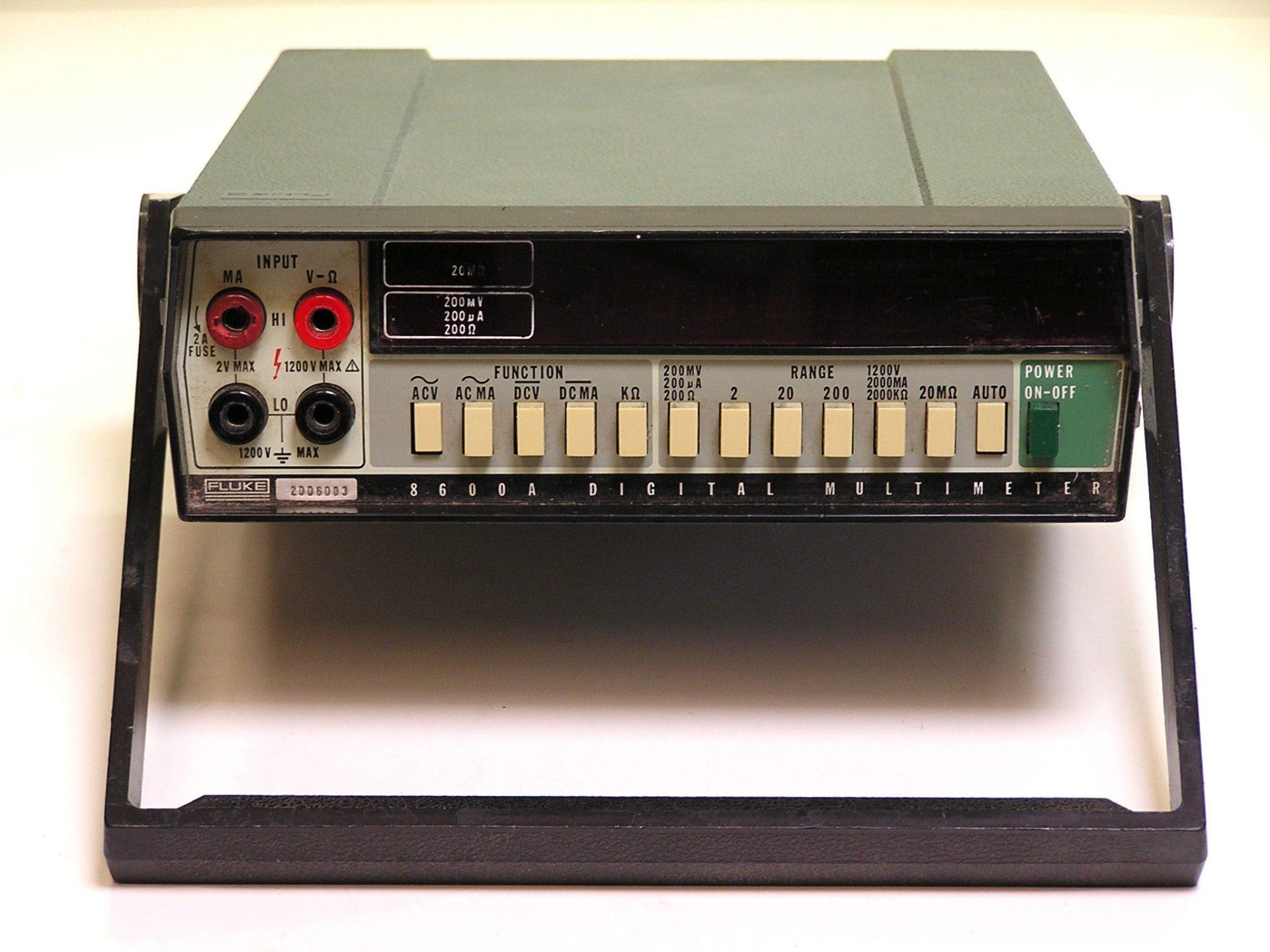 Fluke 8600A Multimeter