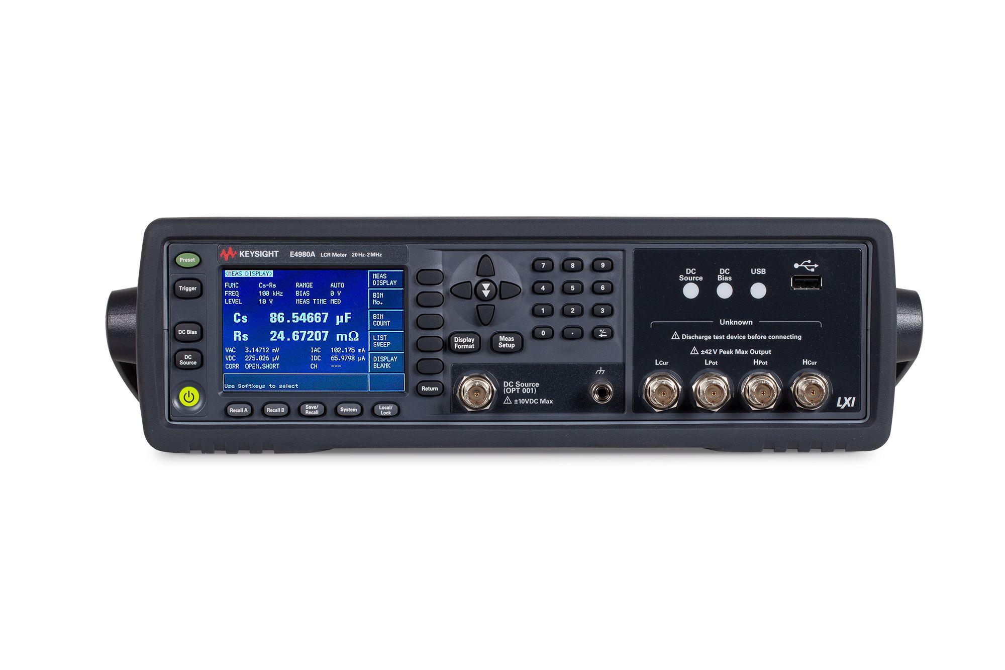 Keysight E4980A w/001 Precision LCR Meter